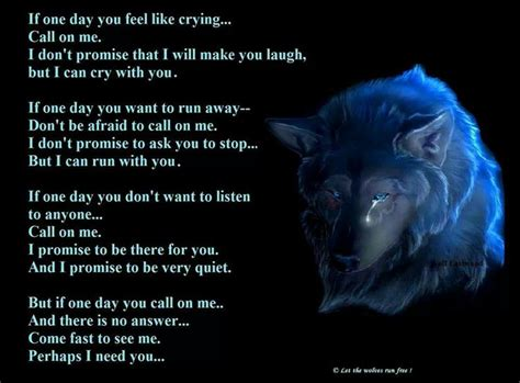1 1 Animal Quotes Beruang i ll always be there as as your there for me as well wolf lyrics wolf and