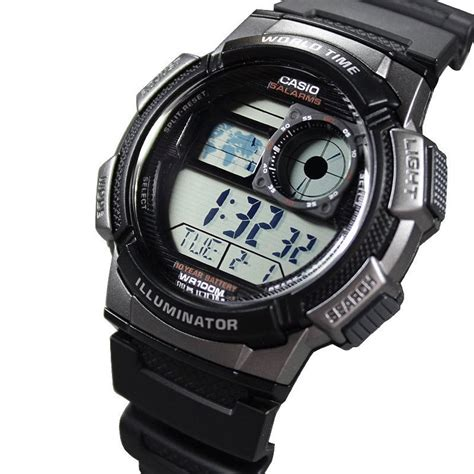 Casio Original Ae 1000w 2 jam tangan pria casio original ae 1000w 1bvdf digital