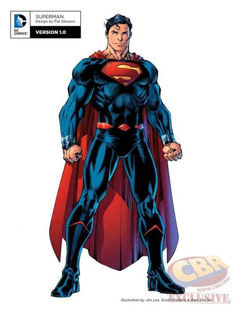 Superman Rebirth Dc Comic new dc rebirth batman superman costumes revealed