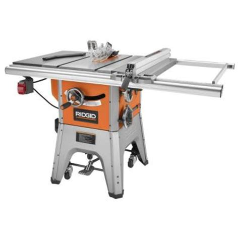 10 In Table Saw by Ridgid 13 10 In Professional Cast Iron Table Saw