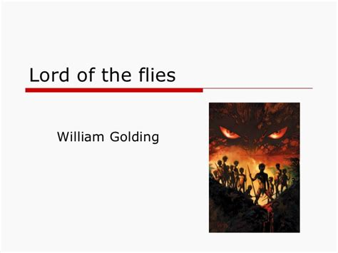lord of the flies themes slideshare lord of the flies setting and main characters