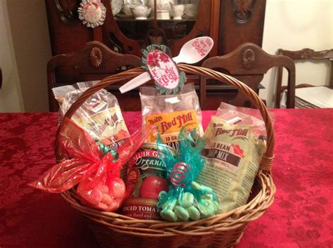 bobs red mill gift basket   souper merry christmas    souper soup crackers