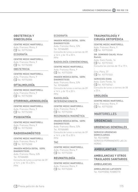 asisa cuadro medico barcelona cuadro medico asisa barcelona by asisa page 135 issuu