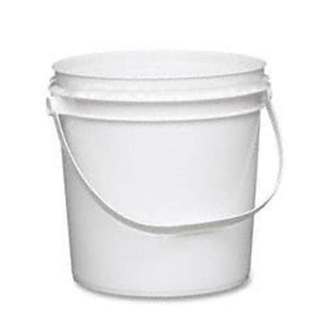 containers empty plastic (ink) w/ lid #8589