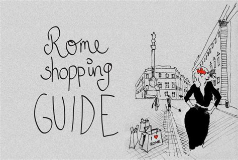 best shopping rome rome shopping guide best shops in rome