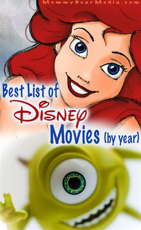 film disney best list of animated disney movies by year disney snow and