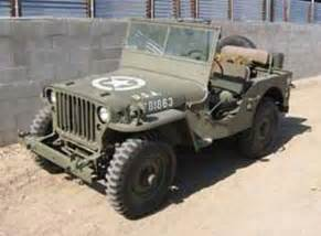 1943 world war ii jeep jeeps pre cj