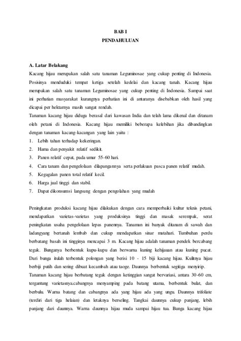 format makalah laporan penelitian contoh laporan penelitian pertumbuhan kata pengantar