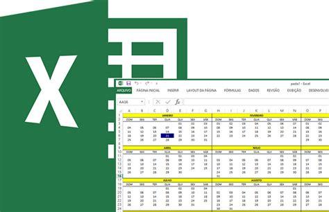 calendario vba nativo para excel 2007 2010 2013 calendario vba nativo para excel 2007 2010 2013 como criar