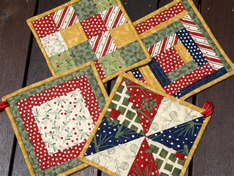 Free Potholder Quilt Patterns by Free Tutorial Pads By