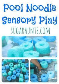 Sensory Box Seri B make your own touchy feely box for arts and crafts
