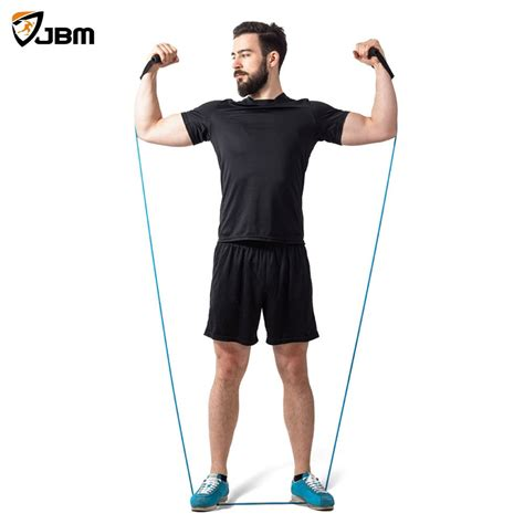 Resistance Band Bands Set Alat Fitness Portable Workout buy jbm resistance band set exercise band with door anchor ankle exercise guide foam