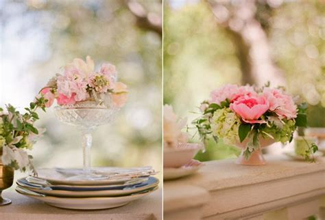 pink rose centerpieces the sweetest occasion the