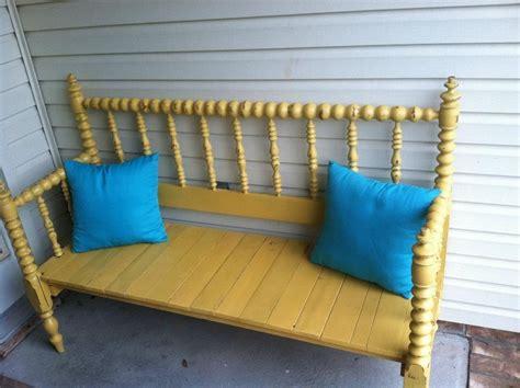 diy bench from headboard headboard and footboard diy bench craftiness