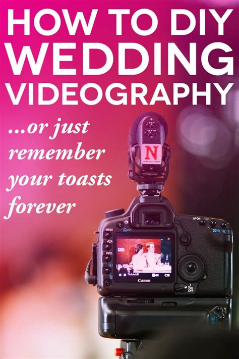 Wedding Videography by Diy Wedding Videography Tips For Non Pros A Practical