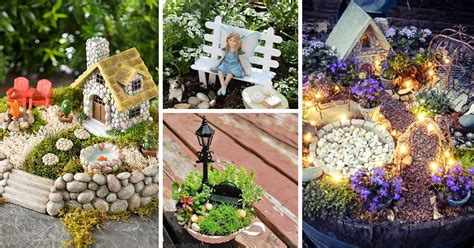 fairy garden plans and decor ideas create a magical backyard the 50 best diy miniature fairy garden ideas in 2018