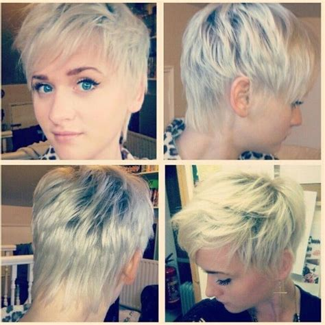 short back and sides for women over 60 short gray pixie haircuts for women over 50 front back