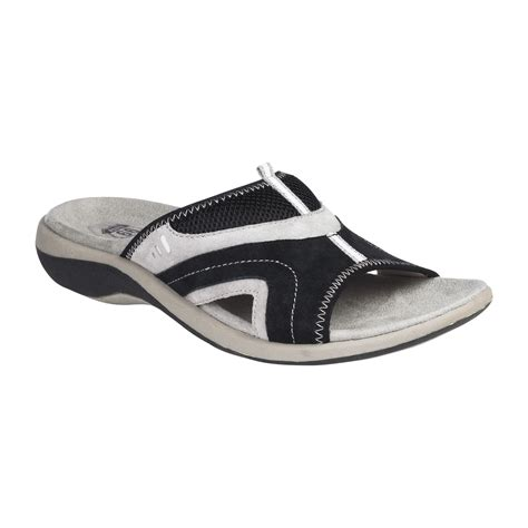kmart womens sandals sporty slide sandal for comfort meets style at kmart