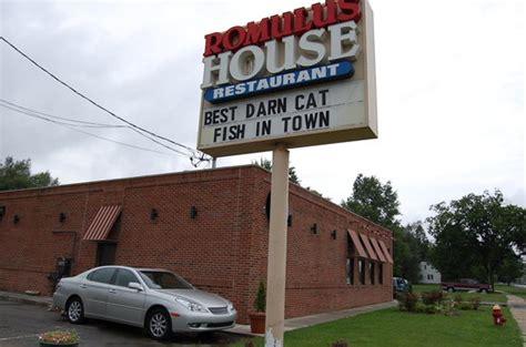 romulus house de 10 b 228 sta restaurangerna i n 228 rheten av lower huron metropark