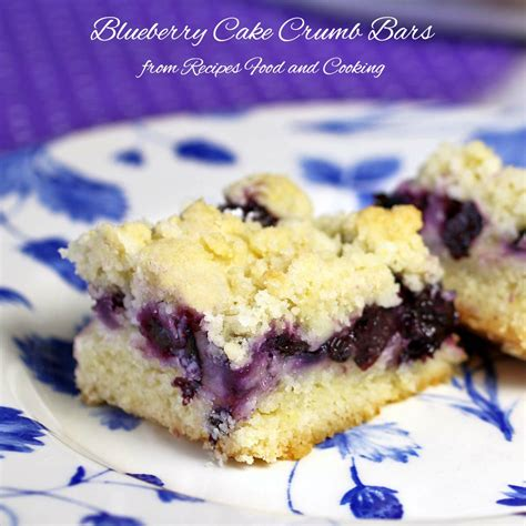 13 Ingredients And Directions Of Chocolate Layer Crumb Bars Receipt by Blueberry Cake Crumb Bars Recipes Food And Cooking