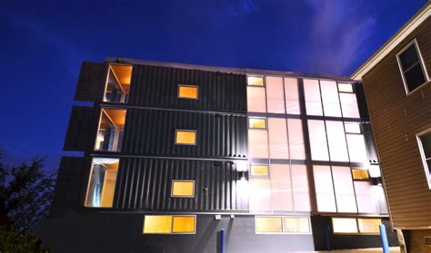 storage container apartments d c s shipping container apartment project completed