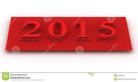 new year represents represents the new year 2015 stock photo image 47539602