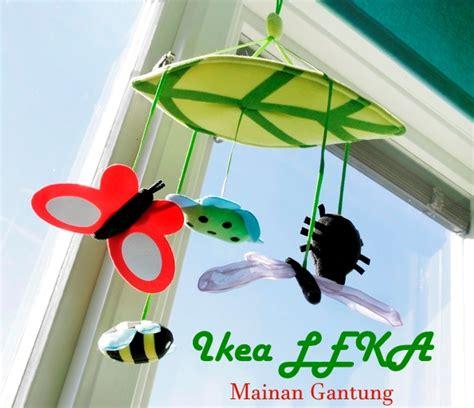 Ikea Leka Mainan Gantung Bayi ikea leka mainan gantung aneka warna