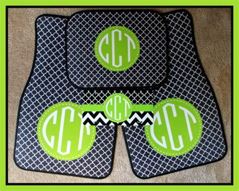 Monogrammed Gifts - items similar to car mats monogrammed gifts personalized