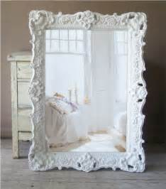 white baroque mirror large shabby chic mirror vintage 359 00 via etsy mirrors pinterest