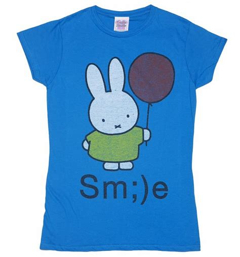 women s miffy smile t shirt