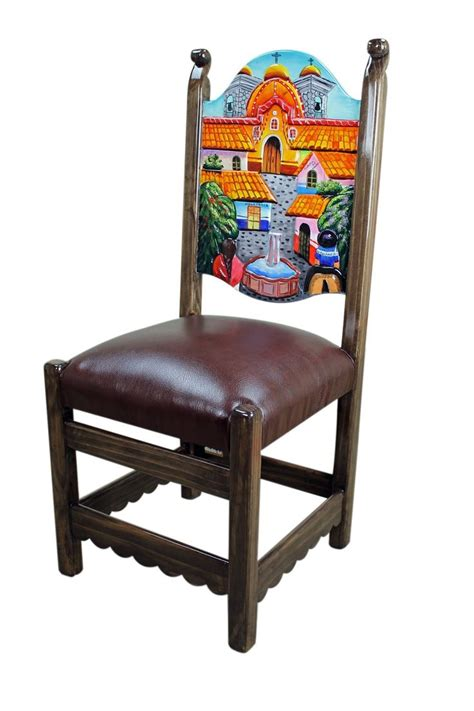mexican painted chairs pin by sylvia galindo on mexican furniture
