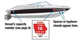 indiana boat lettering laws boat registration numbers by state vl0605