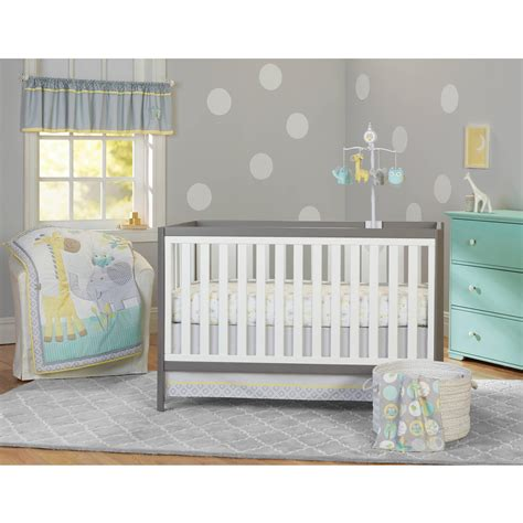 Walmart Nursery Furniture Sets Crib Bedding Sets Walmart Garanimals Animal Crackers 3 Set Clipgoo