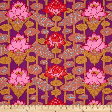 Kaffe Fassett Upholstery Fabric by Kaffe Fassett Lotus Stripe Discount Designer Fabric