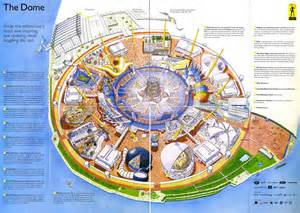 map of the dome millennium dome map this is a map of the insides of the