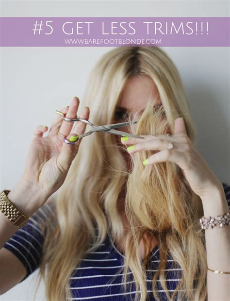 grown out blonde hairstyle barefoot blonde 13 ways to grow out your hair beauty