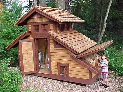 Backyard Chicken Coop Plans Kreitz Family Poulet Chalet Backyard Chickens Community