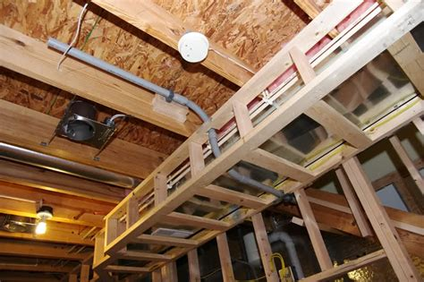 basement soffits and how to build them basement finish