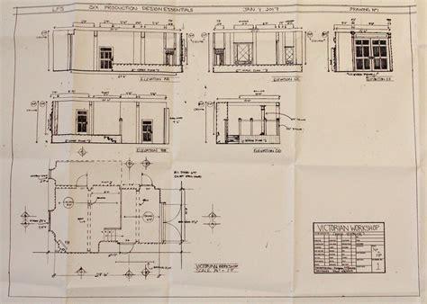 workshop floor plan london film school production design essentials morgana