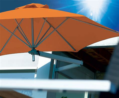 Wall Mounted Patio Umbrella Paraflex Wall Mounted Patio Umbrella Digsdigs