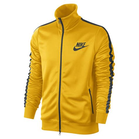 Jaket Sweater Nike 3d Turkis nike s tribute track jacket yellow green sports