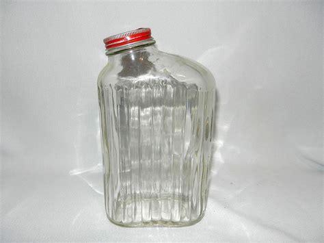 Antique Jar Ls by Vintage Ribbed Refrigerator Water Bottle Or Jar From