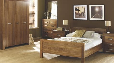 contemporary walnut bedroom furniture contemporary