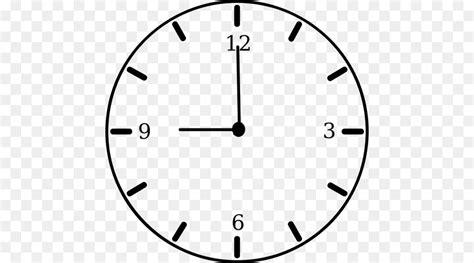 terbaik  gambar kartun jam dinding hitam putih
