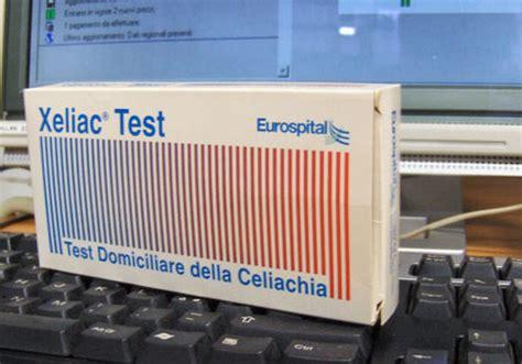 test celiachia in farmacia xeliac test esami per celiachia curare allergia al glutine