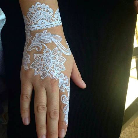 henna tattoo designs in white 30 stunning white henna inspired tattoos that look like