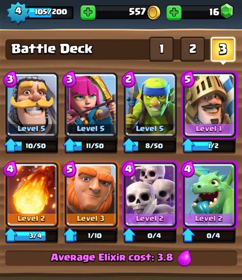 beginner deck clash royale the strategy guide for beginners