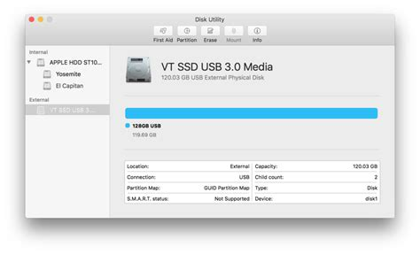 Desk Utility by How To Format A Startup Drive In El Capitan Macworld