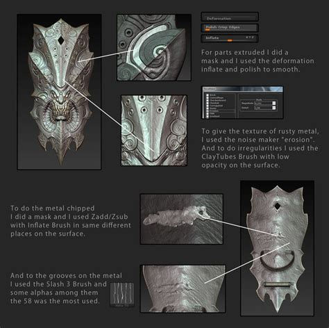 tutorial zbrush gilberto magno tutorial tutorial pinterest metals