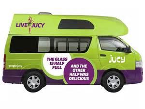 Jucy Car Hire Nz Cervan Jucy Chaser Rental New Zealand